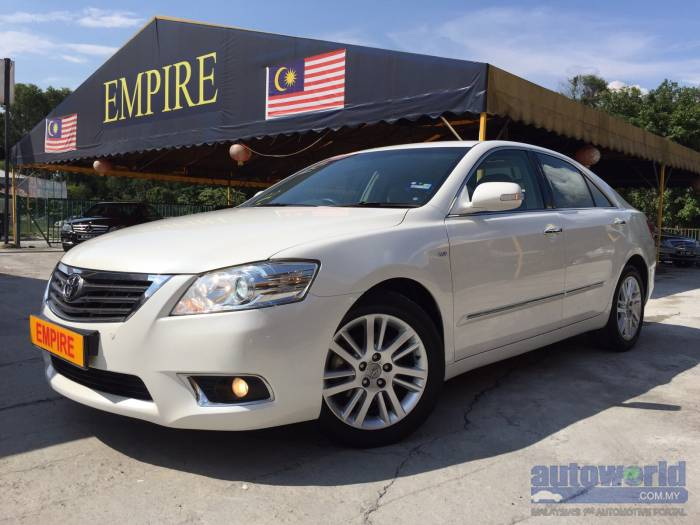used 2010 toyota camry toyota camry 2 4 a vvt i v edition new facelift 2010 wxx. Black Bedroom Furniture Sets. Home Design Ideas