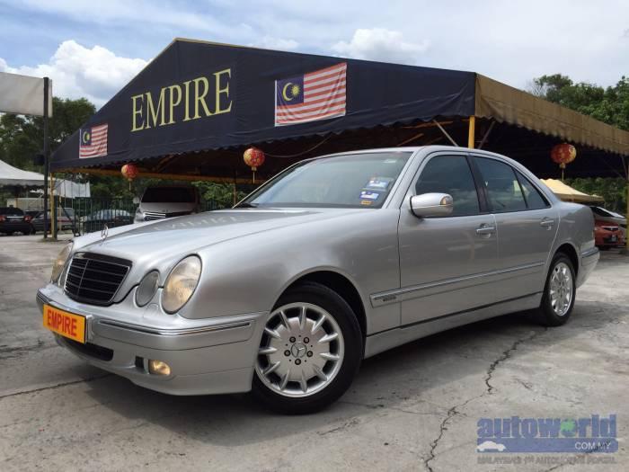 Used 2000 mercedes benz e class mercedes benz e240 2 4 a for Mercedes benz 2000 models