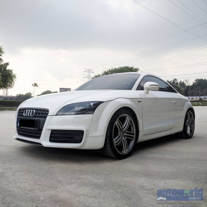 used 2009 audi tt 2 0 tsi auto s line. Black Bedroom Furniture Sets. Home Design Ideas