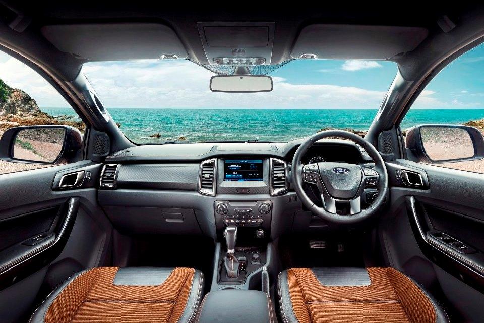 2015 Ford Ranger Wildtrak - Interior dash ASEAN
