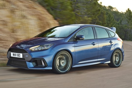 Outputs of all-new Ford Focus RS confirmed at 345hp