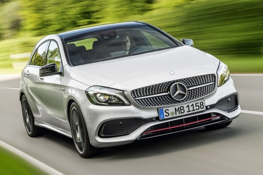 Mercedes-Benz A-Class facelift makes global debut