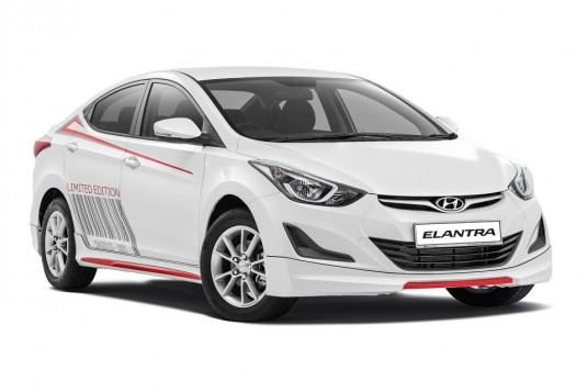 Limited-unit Sport Edition for Hyundai Elantra 1.6