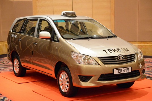 Toyota Innova delivered for use as Teksi 1 Malaysia
