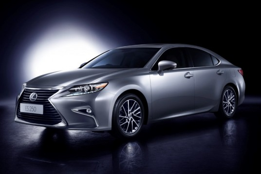 Order taking begins for facelifted Lexus ES