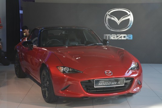 Mazda MX-5 SkyActiv launched in Malaysia