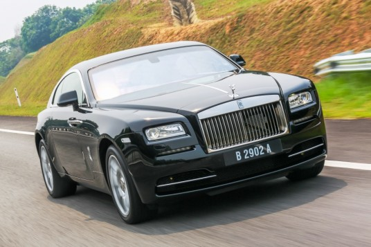 Rolls-Royce Wraith Driving Experience