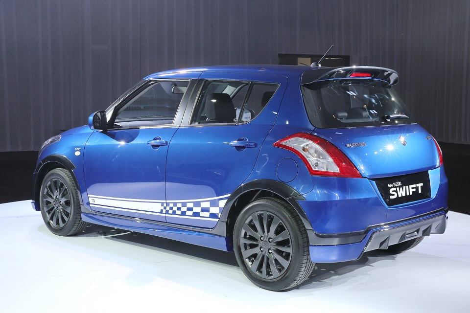 Suzuki Swift facelift line-up enhanced with limited RR2