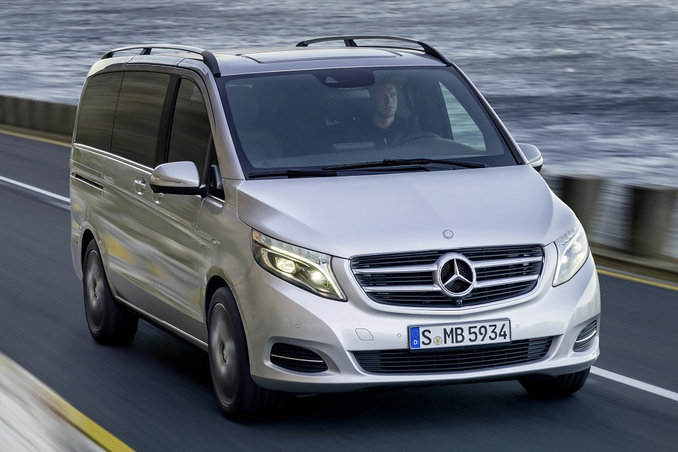 All new mercedes benz v class luxury van now available in for Mercedes benz insurance