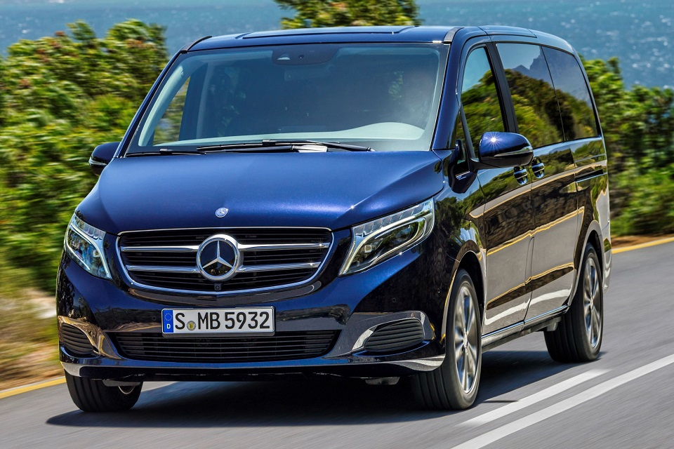 All new mercedes benz v class luxury van now available in for Mercedes benz luxury van