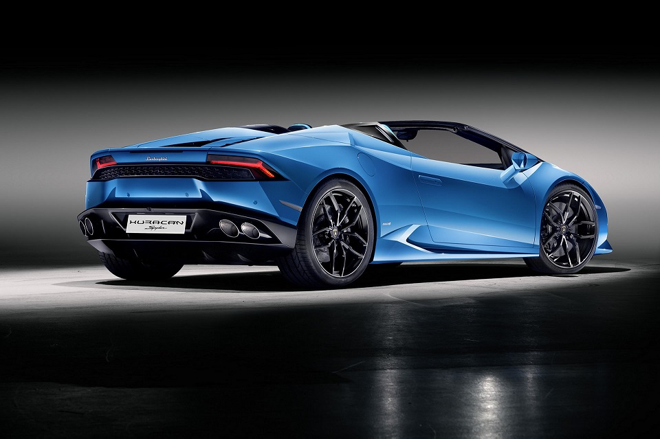 Lamborghini Huracaìn Spyder LP 610-4 Rear