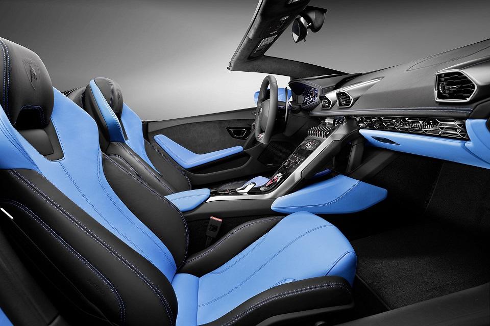 Lamborghini Huracaìn Spyder LP 610-4 Interior