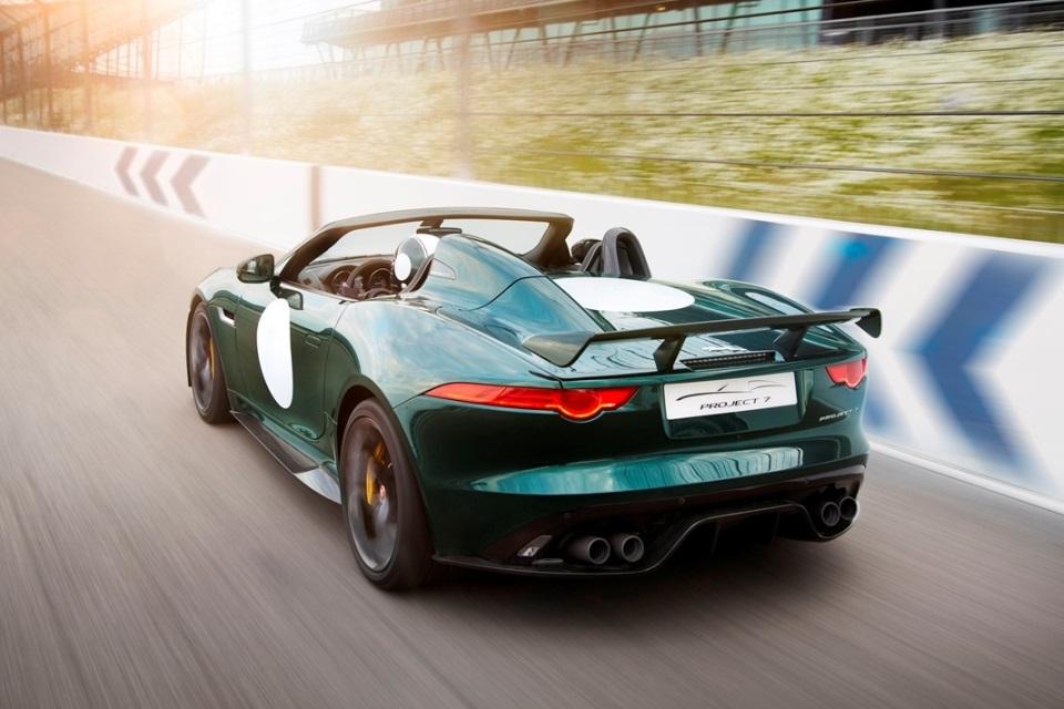 Jaguar F-Type Project 7_Rear_Track