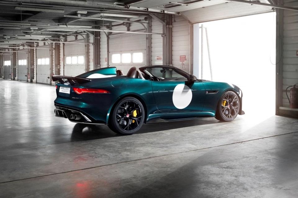Jaguar F-Type Project 7_Side_Garage