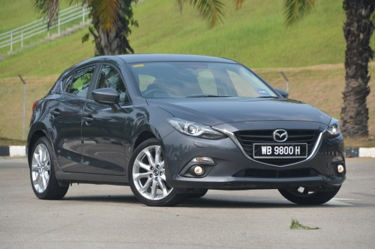 Mazda3 SkyActiv CKD Test Drive Review