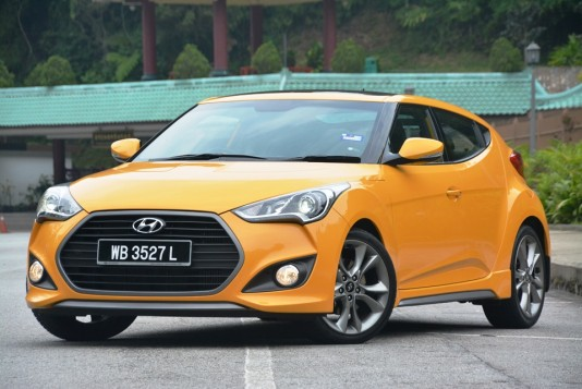 Hyundai Veloster Turbo Test Drive Review
