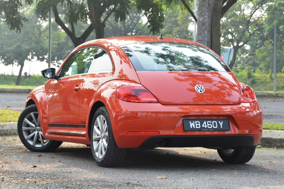 Volkswagen Beetle Club 1 2 Tsi Test Drive Review
