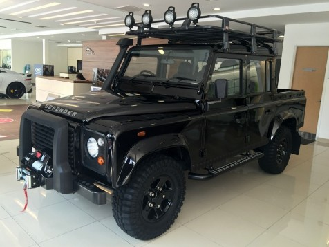 Land Rover Defender Limited Edition launched