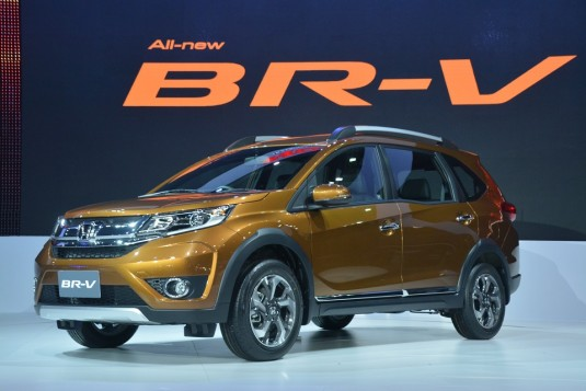Thai Expo 2015 - Honda previews BR-V ahead of 2016 Thai market launch