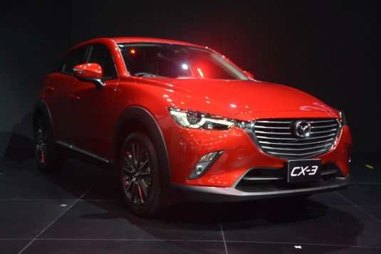 Thai Expo 2015 - Mazda launches MX-5, CX-3, and sub-100g/km Mazda2 variants