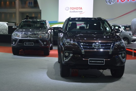 Thai Expo 2015 - All-new Toyota Hilux and Fortuner