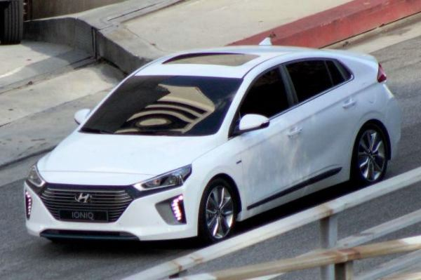 Hyundai IONIQ A Leap Forward for Hybrid Vehicles_Spyshot
