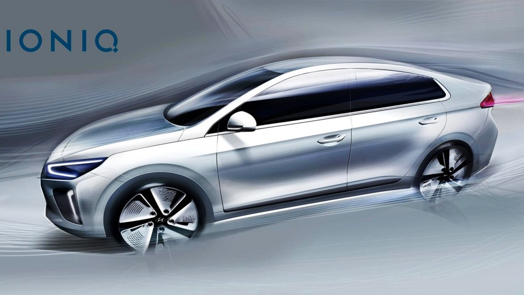 Hyundai IONIQ A Leap Forward for Hybrid Vehicles_Sketch