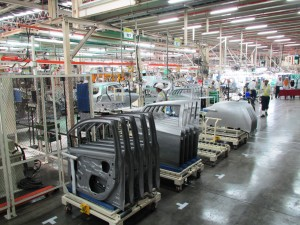 Perodua Global Manufacturing Sdn Bhd Official Opening Assembly Line