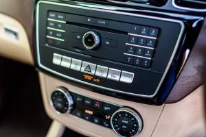 Mercedes-Benz GLE 400 4MATIC Controls