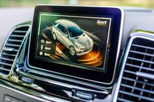 Mercedes-Benz GLE 400 4MATIC Screen