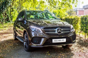 Mercedes-Benz GLE 400 4MATIC Front