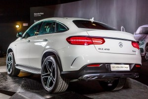 Mercedes-Benz GLE 450 AMG Coupe Rear