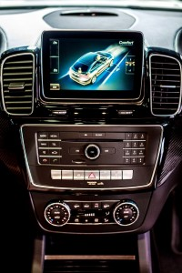 Mercedes-Benz GLE 450 AMG Coupe Console