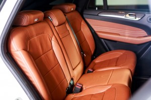 Mercedes-Benz GLE 450 AMG Coupe Rear Seats