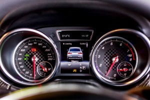 Mercedes-Benz GLE 450 AMG Coupe Meters
