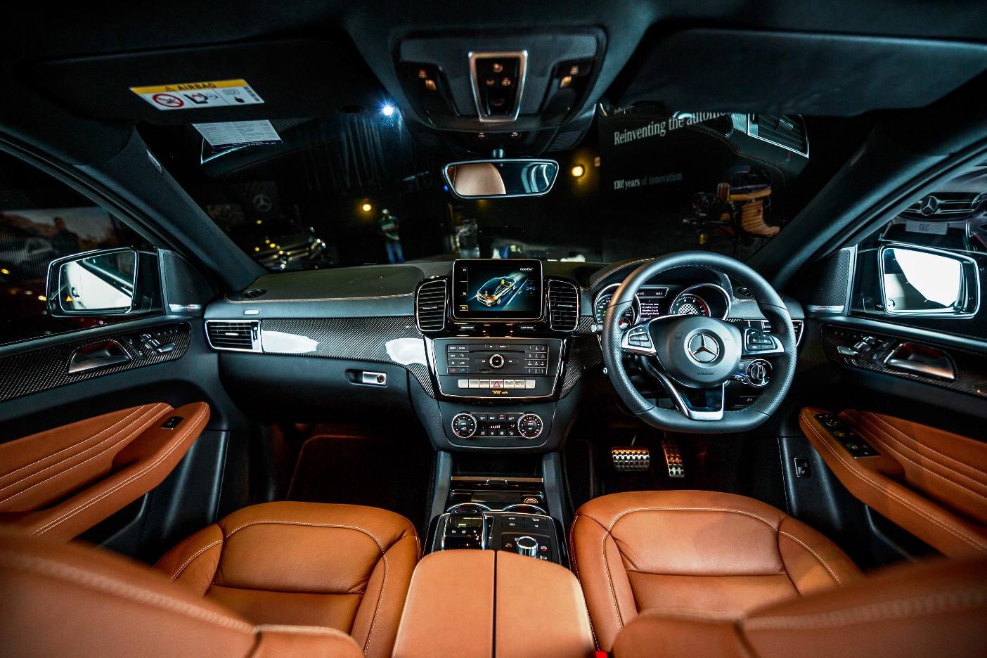 Mercedes Benz Gle 450 Amg Interior Autoworld Com My