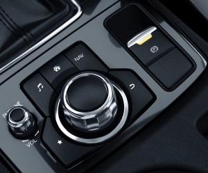 Mazda CX5 FL commander control e parking brake