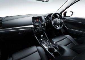 Mazda CX5 FL interior