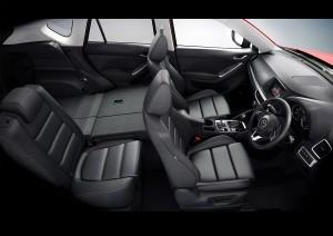 Mazda CX5 FL folding rear seats