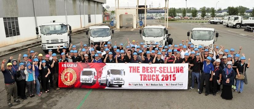Isuzu Still Malaysia's Top Truck Brand