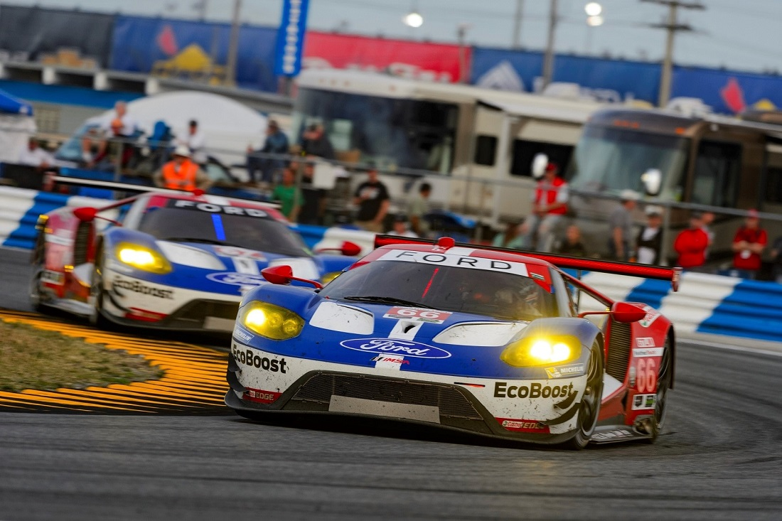 four ford gt cars to race in le mans 2016 - autoworld.my