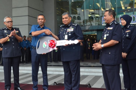 Four Perodua Axia For Police Force