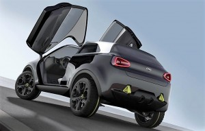 Kia Niro Concept Rear