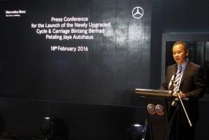Cycle & Carriage Bintang CEO Dato' Wong Kin Foo