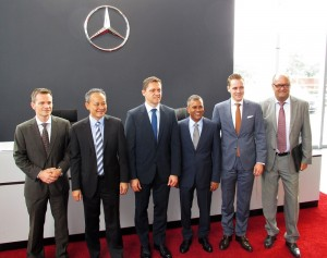 Mercedes-Benz and Cycle & Carriage Bintang Executives At PJ Autohaus