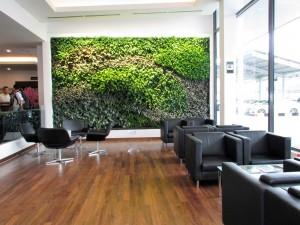 Mercedes-Benz Cycle & Carriage Bintang Petaling Jaya Autohaus Vertical Garden Lounge