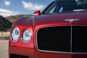 Bentley Flying Spur V8 S Front Closeup
