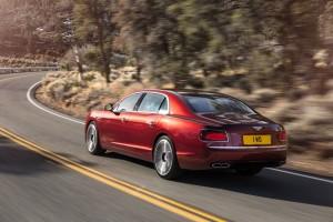 Bentley Flying Spur V8 S Rear