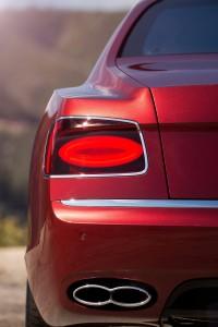 Bentley Flying Spur V8 S Rear Closeup
