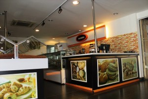 Exisiting Cafe in Upgraded Flagship Renault Showroom